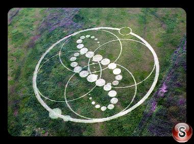 Crop circles - South Korea 2008