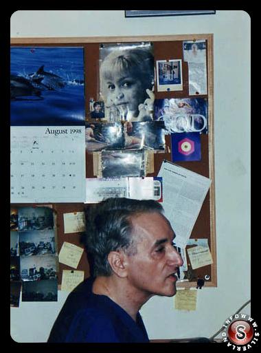Foto in soggiorno a casa del Dott. Michael Wolf
