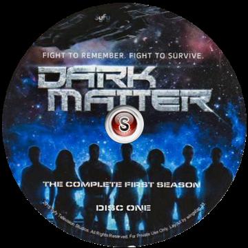 Dark Matter Cover DVD 1
