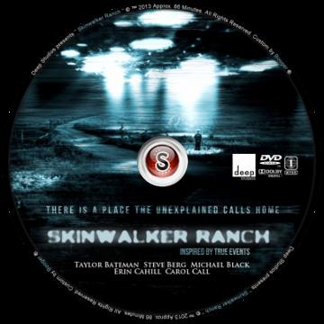 Skinwalker Ranch Cover DVD
