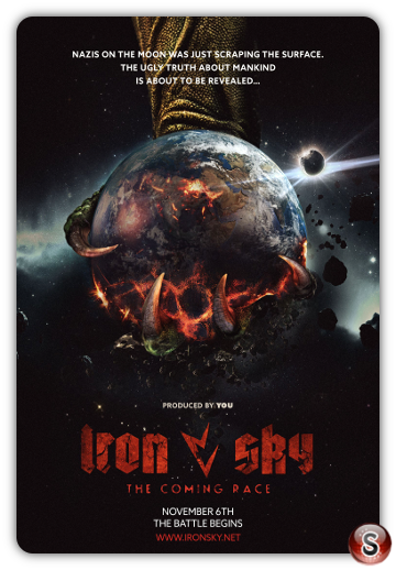 Iron Sky: The Coming Race - Locandina - Poster