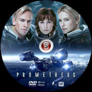 Prometheus Cover DVD
