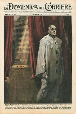 Domenica del Corriere 15 Dicembre 1957 - Teatro Lirico - Beniamino Gigli