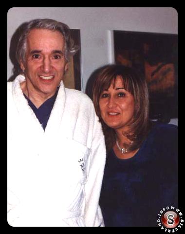 Il Dr. Michael Wolf e Paola Harris