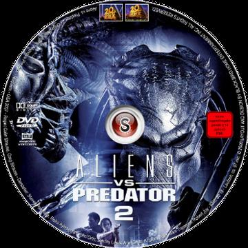 Aliens Vs Predator 2 Cover DVD
