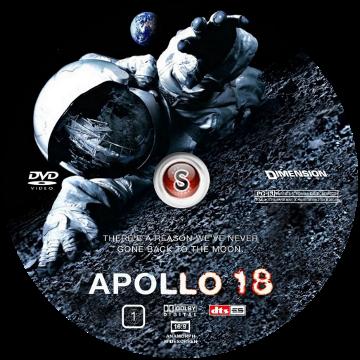 Apollo 18 Cover DVD