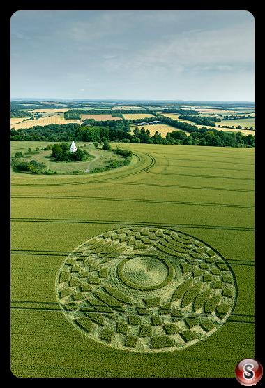 Crop circles - Farley Mount Hampshire 2019