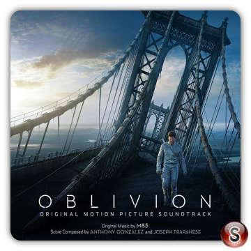 Oblivion Soundtracks Cover CD