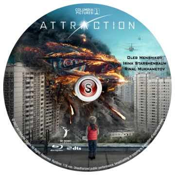 Attraction Cover DVD