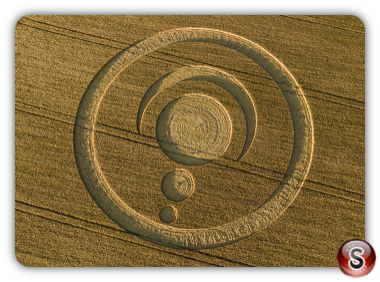 Crop circles Cley Hill - Wiltshire 2019