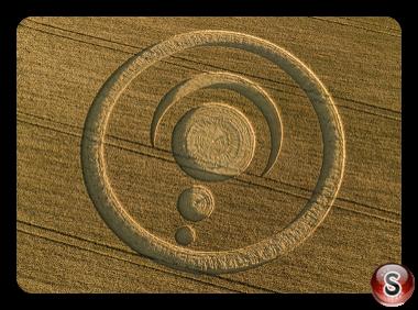 Crop circles - Cley Hill Wiltshire 2019