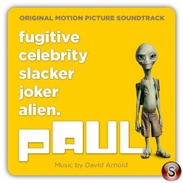 Paul Soundtracks Cover CD