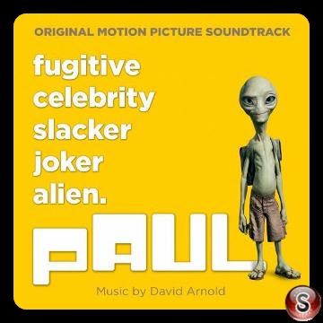 Paul Soundtracks Cover CD