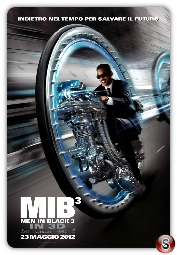 Men in black 3 - Locandina - Poster