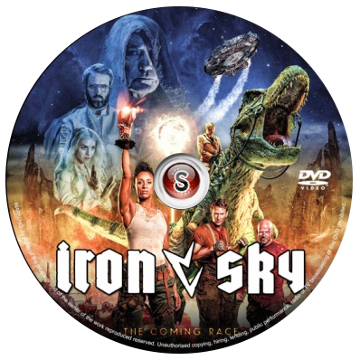 Iron sky:The coming race Cover DVD