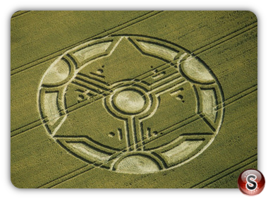 Crop circles - Liddington Castle, Wiltshire 1999