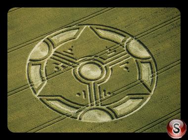 Crop circles - Liddington Castle, Wiltshire 1999