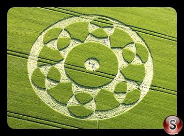 Crop circles - Silbury Hill 2010