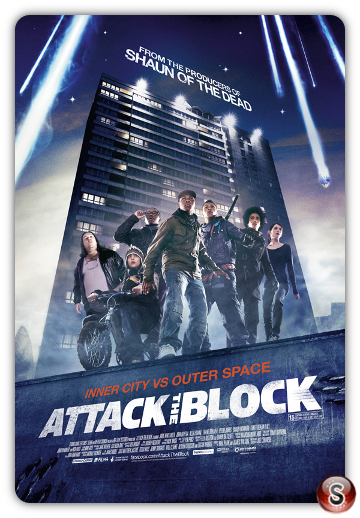 Attack the block - Locandina - poster