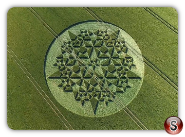 Crop circles  - Martinsell Hill Wiltshire 2018