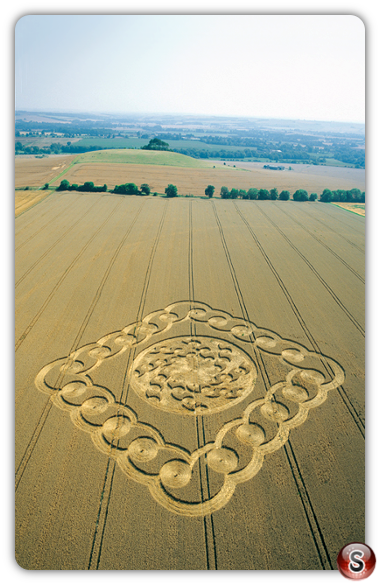 Crop circles - South Field, Alton Barnes, Wiltshire 2003