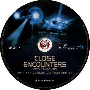 Encounters of the third kind 30 Th Anniversary Cover DVD CD 2