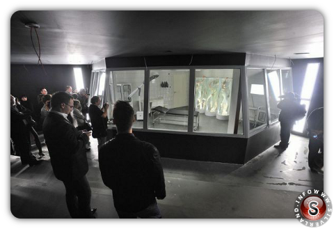 UFO hangar - Area 51 project Budapest