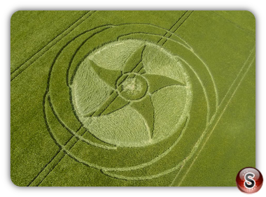 Crop circles Silbury Hill - Wiltshire 2016