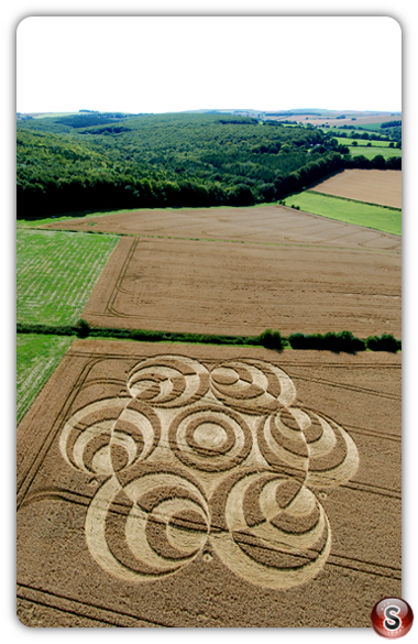 Crop circles - West Woods 2007