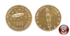 Coin Roswell Nex Mexico incident 1999