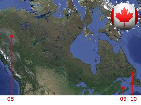 Basi aliene in Canada
