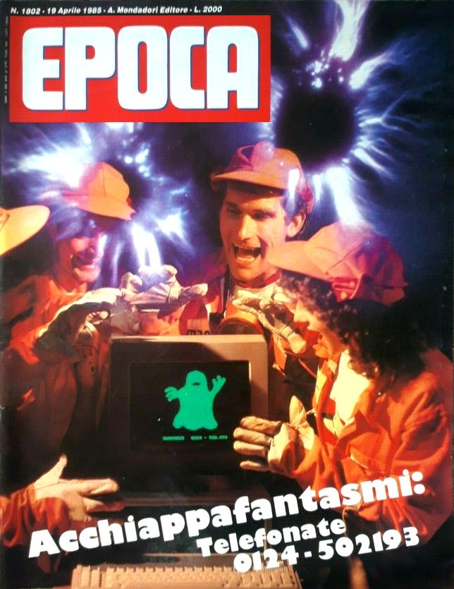 Rivista Epoca del 19 aprile 1985