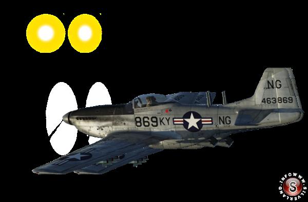 P-51 Mustang George Gorman, ricostruzione Silverland