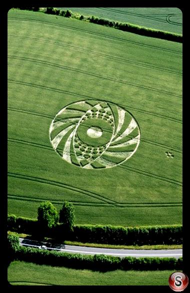 Crop circles - Ufton nr Southam Warwickshire 2010