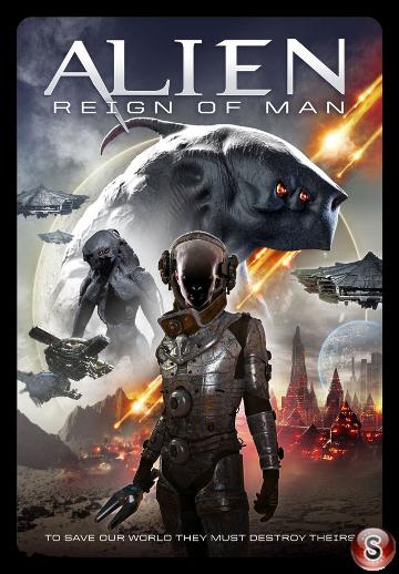 Alien Reign of Man - Locandina - Poster