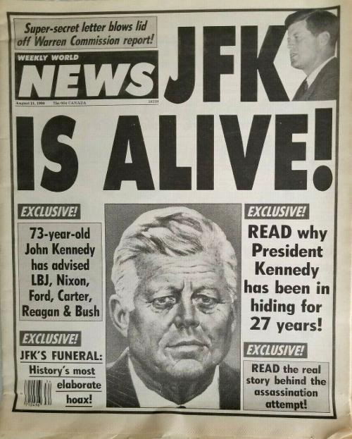 JFK ancora vivo