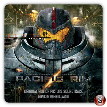 Pacific rim Soundtracks List Cover CD