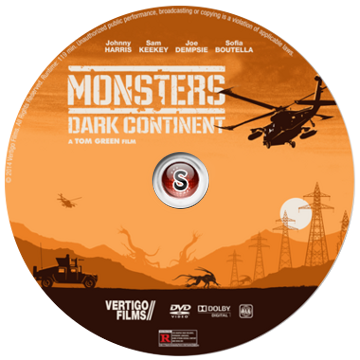 Monsters Dark Continent Cover DVD