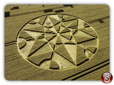 Crop circles Hackpen Hill - Wiltshire 2017
