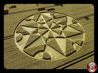 Crop circles - Hackpen Hill Wiltshire 2017