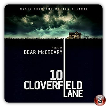 10 Cloverfield lane Soundtrack Cover CD