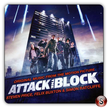 Attack The Block Soundtrack Cover CD