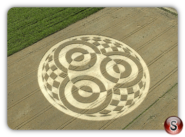 Crop circles Raisting Bavaria 2014
