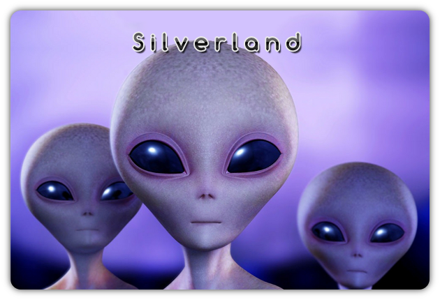3 Aliens -  by anonimous rivisited Silver