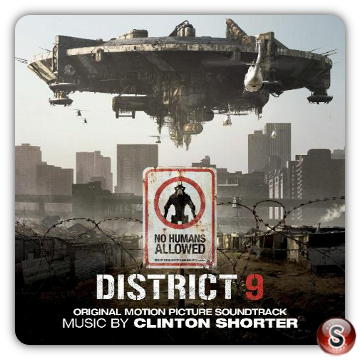 District 9 Soundtrack Cover  CD