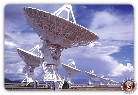 SETI, a search for extraterrestrial intelligence