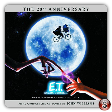 E.T. Soundtracks Cover CD