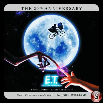 E.T. Soundtrack Cover CD