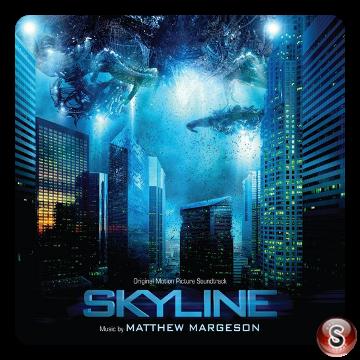 Skyline - Non guardare in alto Cover DVD Soundtrack Cover CD
