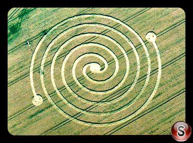 Crop circles Estella, Navarra Espana 2015
